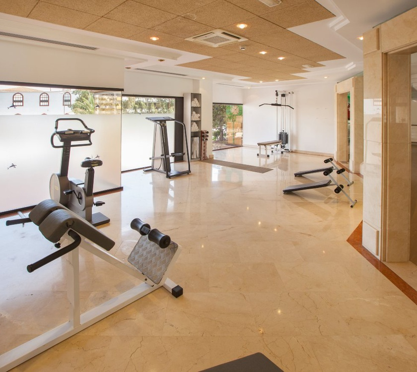 Gimnasio abora continental by lopesan hotels gran canaria